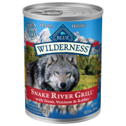 Blue Wilderness Dog GF Snake River Grill 12/12.5 oz