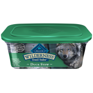 Blue Wilderness Dog Trail Tubs Duck Stew 8/8 oz