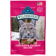 Blue Wilderness Cat GF Chicken & Salmon Soft Treats 8 oz