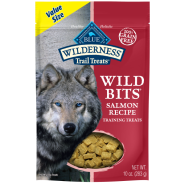 Blue Dog Wilderness Wild Bits Salmon 10 oz