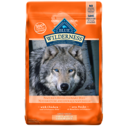 Blue Dog Wilderness Large Breed Adult Chicken 24 lb