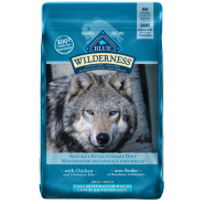 Blue Dog Wilderness Adult Lg Breed Healthy Wt Chicken 24 lb