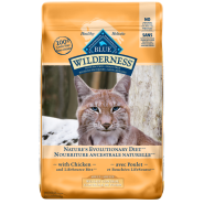 Blue Cat Wilderness GF Weight Control Adult Chicken 11 lb