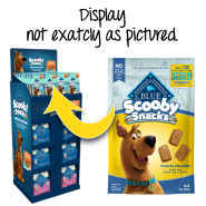 Blue Dog Scooby Quarter Pallet Display Food/Treats 42 Units