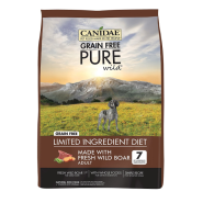 Canidae GF Pure Wild Dog with Wild Boar 24 lbs
