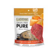 Canidae GF Pure Dog Chewy Treats Bison & Pumpkin 6 oz