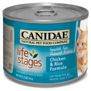 Canidae Life Stages Cat ChickenRice in Ckn Broth 12/5.5 oz