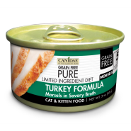 Canidae GF Pure LID Cat Turkey Morsels 18/3 oz