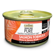 Canidae GF Pure LID Cat Salmon Slices 18/3 oz