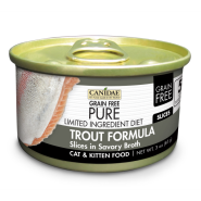 Canidae GF Pure LID Cat Trout Slices 18/3 oz