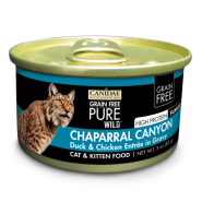 Canidae GF Pure Wild Cat Duck and Chicken 18/3 oz
