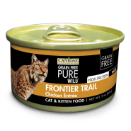 Canidae GF Pure Wild: Frontier Trail Cat Chicken 18/3 oz