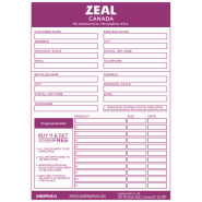 Zeal CND Frequent Buyer Envelope
