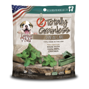 Totally Grainless Dental Care Chews Fresh Breath Mint TOY/SM