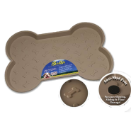 Bella Spill Proof Dog Mats Large Tan