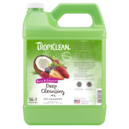 TropiClean Deep Cleansing Shampoo Berry & Coconut 1 gal