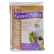 8in1 Gravel Paper 8 3/4 x 13 3/8 Sealed Plastic Bag
