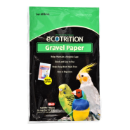 eCotrition Bird Gravel Paper Sealed Plastic Bag 9.5x15""