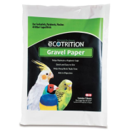 eCotrition Bird Gravel Paper Sealed Plastic Bag 11x17 ""