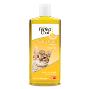 Perfect Coat Kitten Tearless Shampoo Baby Powder Scent 10 oz