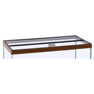 "Marineland Hinged Glass Canopy 72""x18"""