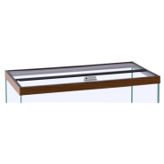 "Marineland Hinged Glass Canopy 72""x24"""