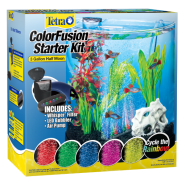 Tetra ColorFusion Starter Kit 3 Gallon Half Moon 2C