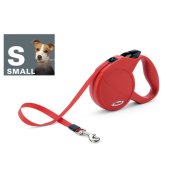 Flexi Classic Compact 1 Sm Dog to 15 kg Red
