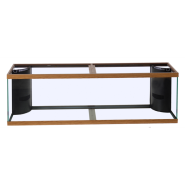 Marineland CornerFlo Aquarium Oak 2 ovrflw 125 gal 72x18x22""