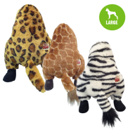 Wild Animal Assortment Large Leopard Giraffe Zebra