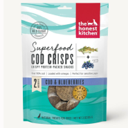 HK Dog Superfood Cod Crisps w/ Blueberry 3 oz