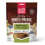 HK Dog Jerky Harvest Mini Bars Chicken w/ Apple&Blubrry 4 oz