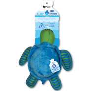 Spunky Pup Clean Earth Recycled Plush Turtle Large