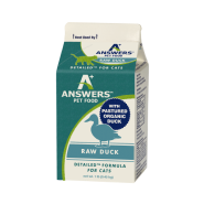 Answers Cat Detailed Raw Duck Formula 1 lb