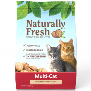 Naturally Fresh Multi-Cat Quick-Clumping Litter 14 lb