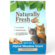Naturally Fresh Multi-Cat Alpine Meadow Scent Litter 14 lb