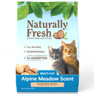 Naturally Fresh Multi-Cat Alpine Meadow Scent Litter 26 lb