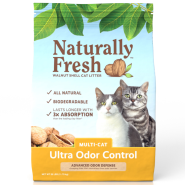 Naturally Fresh Ultra-Odor Control Multi-Cat Litter 26 lb