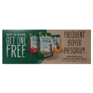 Naturally Fresh Shelf Talker Buy 10 Get 1 Free FBP