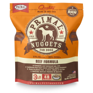 Primal Dog Raw Beef Nuggets 3 lb