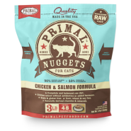 Primal Cat Raw Chicken/Salmon Nuggets 3 lb
