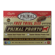 Primal Pronto Free Trial Sized Coupon