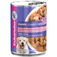 Eukanuba Puppy Mixed Grill W/Ckn&Beef in Gravy 12/12.5 oz
