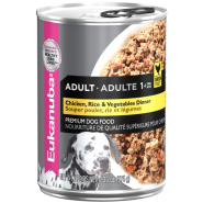 Eukanuba Adult Entree With Fresh Ckicken & Rice 12/13.2 oz
