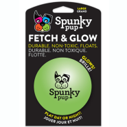 Spunky Pup Fetch & Glow Ball LG