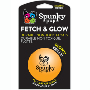 Spunky Pup Fetch & Glow Ball MED