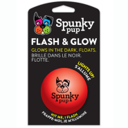 Spunky Pup Flash & Glow Ball