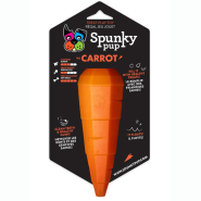 Spunky Pup Treat Holding Carrot Toy