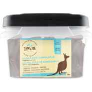 Pawzzie Kangaroo Chipolatas Dog Chew 80/12.5 gm