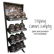 TRC True Raw Choice Display Rack - No Jars
